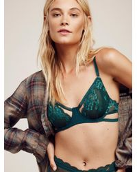 Free People - Dream Of Me Underwire Bra Dream Of Me High Waisted Undie Dream Of Me Thong - Lyst