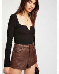 Free People - We The Free High & Tight Shorts - Lyst