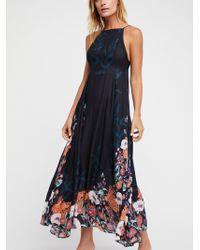 Free People - Embrace It Maxi Dress - Lyst