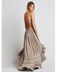 Free People | Extratropical Jersey Maxi Dress | Lyst