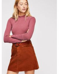 Free People - The Rickie Top By Intimately - Lyst