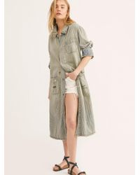 Free People - Tractor Co. Work Jacket By Magnolia Pearl - Lyst