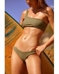 b96f91750e261 Free People Joy Bikini Top By Frankies Bikinis in Red - Lyst