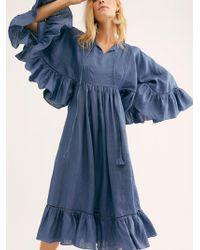 Free People - Antonia Dress By Carolina K - Lyst
