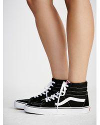 b3230b1d55 Madewell Vans® Unisex Sk8-hi High-top Sneakers In Marled Fabric in ...