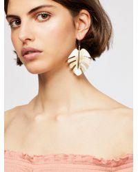 Free People - Palm Leaf Single Earring - Lyst