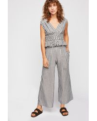 Free People - Your Song Striped Co-ord - Lyst
