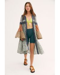 Free People - Music Of The Night Maxi Top - Lyst