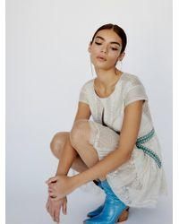 Free People - Victoria Embellished Mini Dress - Lyst