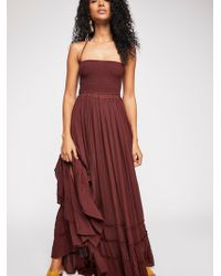 Free People - Extratropical Maxi Dress - Lyst