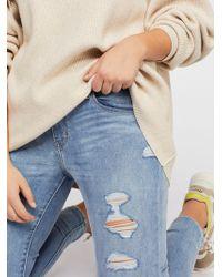 Free People - Levi's Curvy Skinny Jeans - Lyst