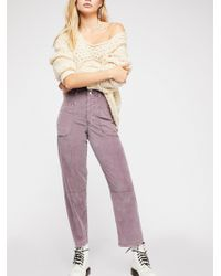 Free People - Slouchy Utility Pant - Lyst