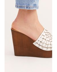 610612d6c8aa Free People - Cassie Platform Wedge By Fp Collection - Lyst