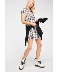 Free People - River Plaid Tunic By Cp Shades - Lyst