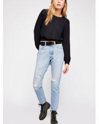 Free People - Levi's 501 Skinny Jeans - Lyst