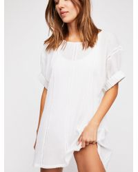 Free People - Let's Go Tunic - Lyst