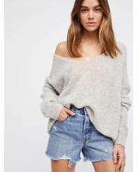 Free People Levi's High-rise Wedgie Cutoff Shorts