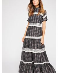 Free People - Catalina Maxi Dress - Lyst