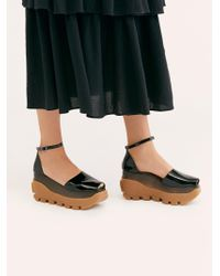 Free People - Emery Flatform By Jeffrey Campbell - Lyst