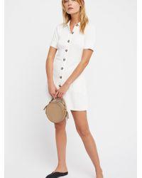 Free People - New Afternoon Mini Dress - Lyst
