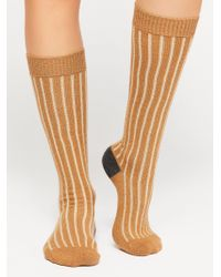 Free People - Cambridge Cashmere Knee High Sock - Lyst