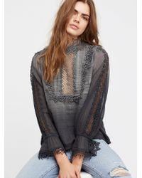 Free People - Clothes Tops & Tees Blouses Fp One Victoria Top - Lyst