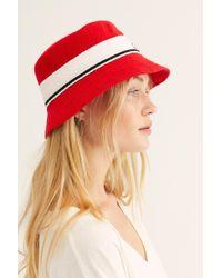 sale retailer 3e41e e79a2 Free People - Kangol Bermuda Stripe Bucket Hat - Lyst