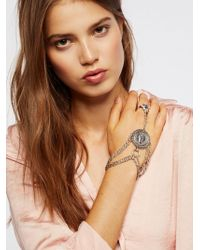 Free People | Saint Christopher Chain Glove | Lyst