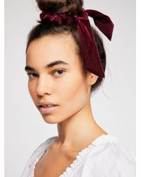 Free People - Cord Scarf Pony - Lyst