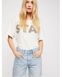 Free People - Levi's Indie Short - Lyst