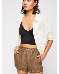 Free People - Beacon Utility Short - Lyst