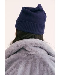 Free People - Cascade Cashmere Beanie - Lyst