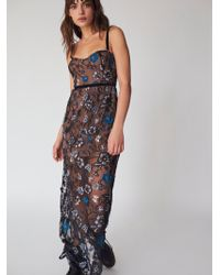 Free People - Beatrice Strappy Maxi Dress By For Love & Lemons - Lyst