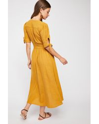 4e44468e6149 Free People Love Of My Life Midi Dress By Endless Summer in Blue - Lyst