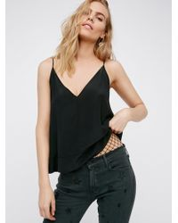 Free People | Up All Night Silk Cami | Lyst