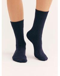 Free People - Winter Weekends 3-pack Crew Socks - Lyst