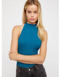 Free People | Extreme T-back Seamless Cami | Lyst