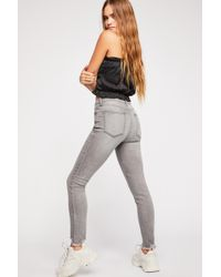 Free People - Crvy Mid-rise Destroyed Skinny Jeans By We The Free - Lyst