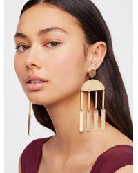 Free People - Gabrielle Geometric Duster Earrings - Lyst