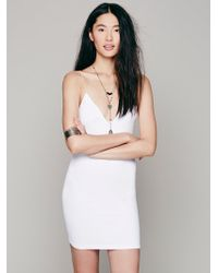 Free People - Skinny Strap Bodycon - Lyst