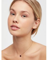Free People | Meaningful Stone Necklace | Lyst