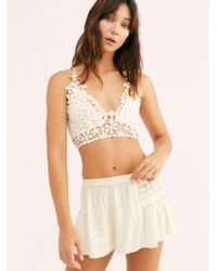 Free People - Summer Forever Shorties - Lyst