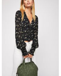 Free People - Trilogy Slouchy Tote - Lyst