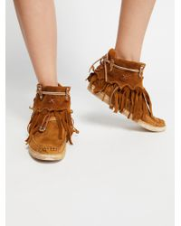Free People - Cortez Mocc Boot - Lyst