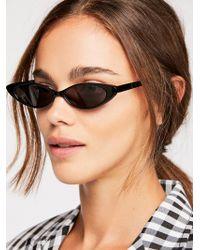 Free People - Smokey Eye Sunglasses - Lyst