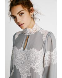 Free People - Queen 4 A Day Mini Dress By Hah - Lyst