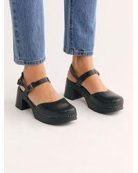Free People - Irene Clog By Swedish Hasbeens - Lyst