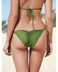 Free People   Solid Tie Side Bottoms   Lyst