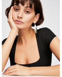 Free People - Oyster Shell Earrings - Lyst