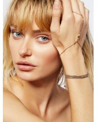 Free People - Slinky Chain Hand Wrap - Lyst